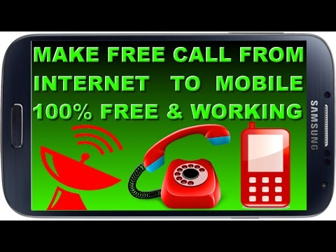 How to make Unlimited free calls from internet to any mobile/landline even on 2G/3G/4G [Hindi/Urdu]