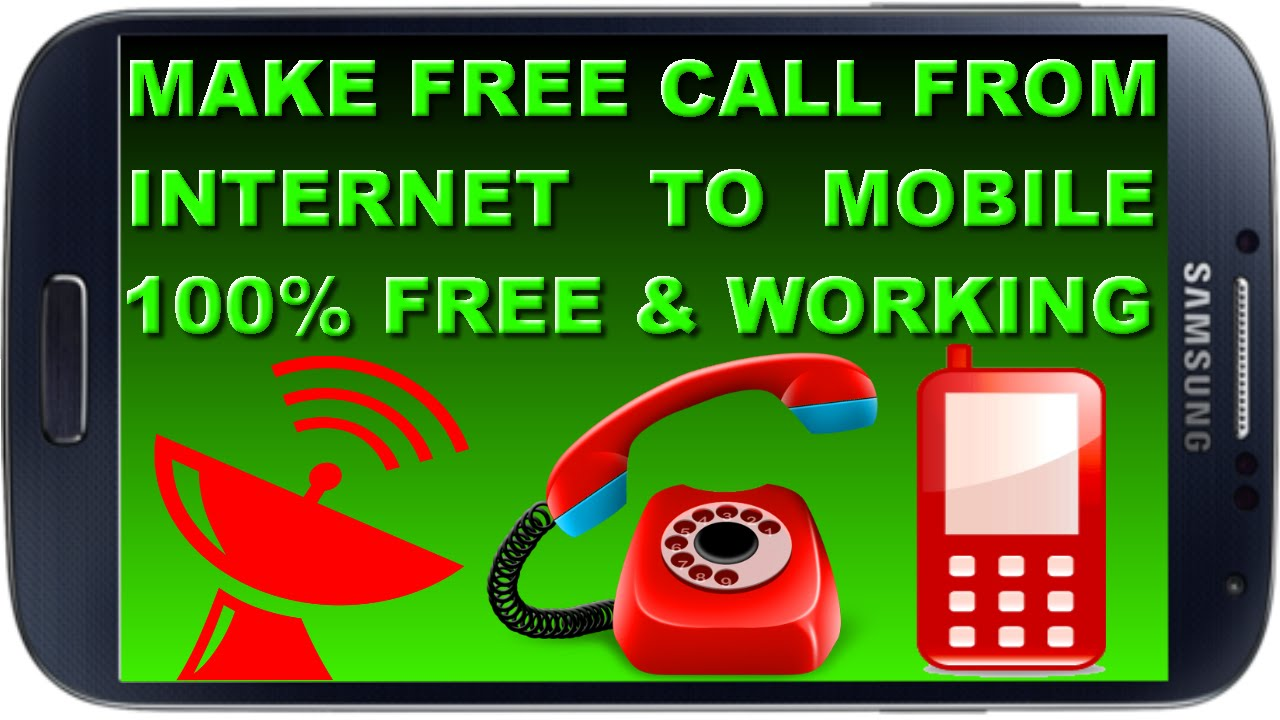 how to make internet call to mobile free