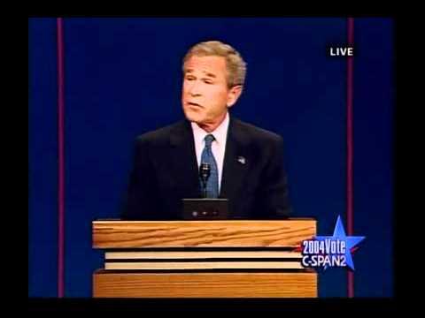 United States presidential debates, 2004