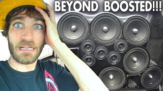 LOUD BASS SONGS Amplified to the MAX!!! Subwoofer Tapout & BEST Skar Audio Sound System Install