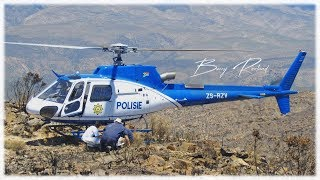 South African Police Eurocopter Helicopter