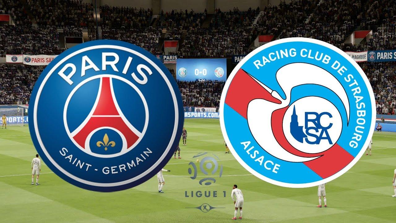 ligue 1 2018  19 - psg vs strasbourg - 07  04  19