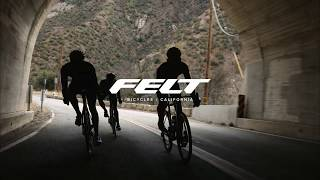 The new Felt AR Aero Road Bicycle.  Built for speed...Fun included.