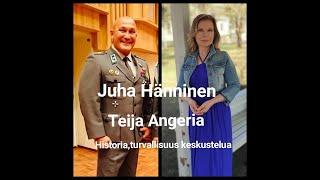 Historia ja Turvallisuus, Juha Hänninen ja Teija Angeria Oulun kasarmilla.