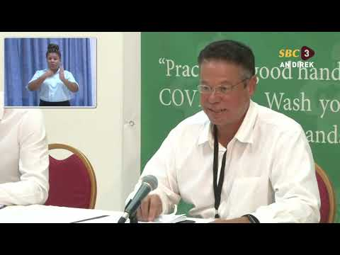 SBC SEYCHELLES - CORONA VIRUS-DEPARTMENT OF HEALTH-PRESS CON