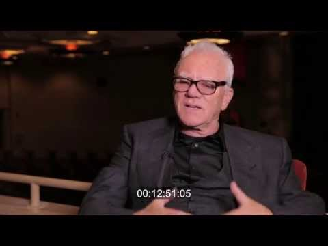 Malcolm McDowell Raw Interview