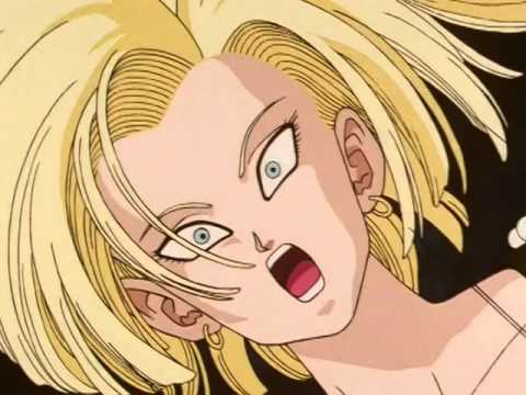 Dragon ball z cagadas krilin avisa del peligro a c18 mientras se la imagina youtube - Dragon ball zc 18 ...