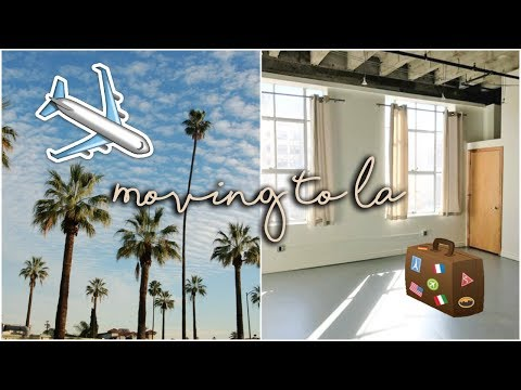 VLOG 1| Moving to LA from Indiana: Furnished Apartment Tour