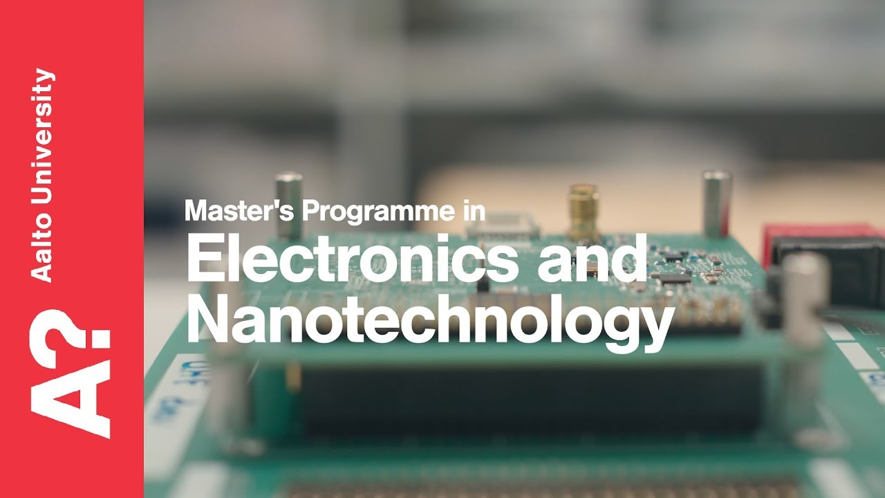 Department of Electronics and Nanoengineering | Aalto University