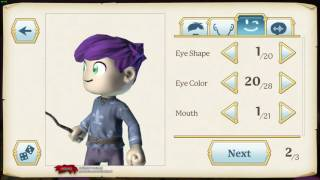 Portal Knights - EP01 - Character Creation Gameplay