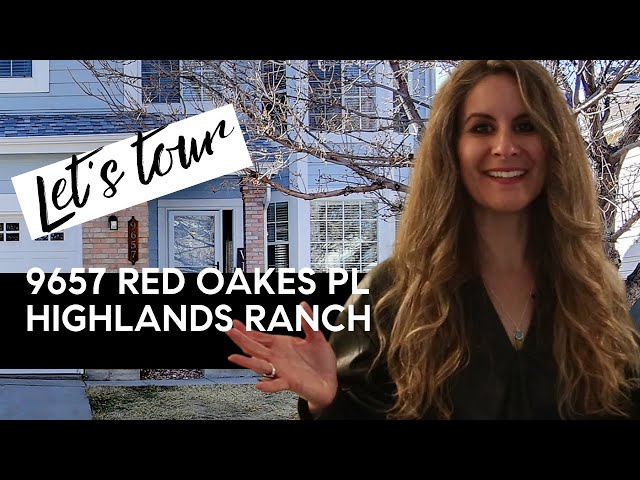 9657 Red Oakes Place Highlands Ranch Colorado
