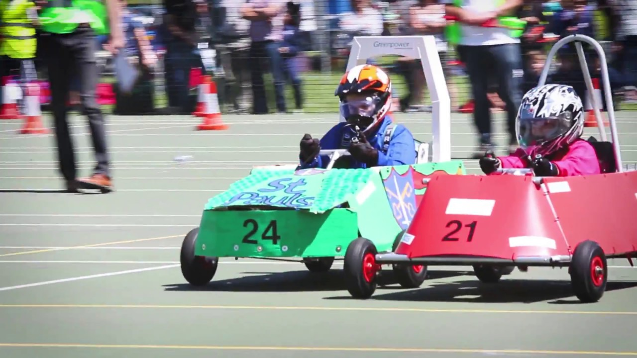Greenpower goblin racing day at seaford college