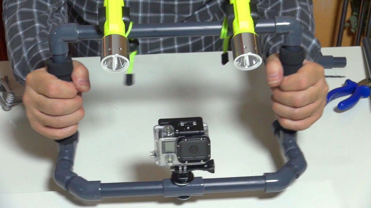 DIV GoPro Rig For Underwater Steady Cam