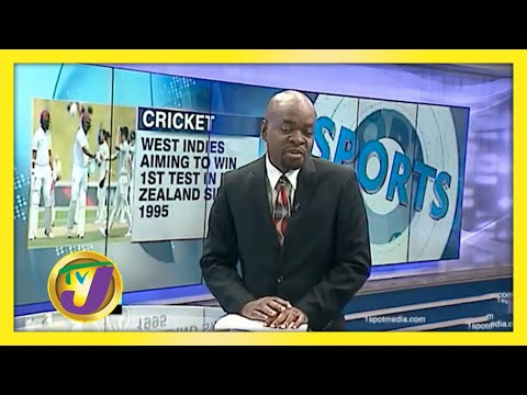 W.I. Aiming end 25 years Test Drought in New Zealand   TVJ Sports News