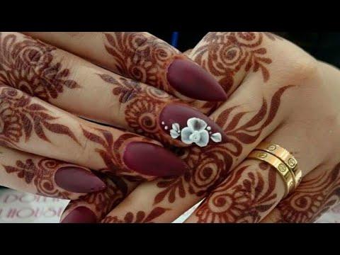 #Mehndi Designs Part 2 / Rakhi Mehndi designs / Mehndi watsapp status song/