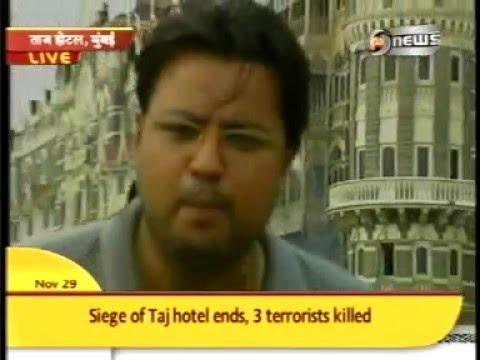 dd news neeraj cover mumbai attack taj hotel