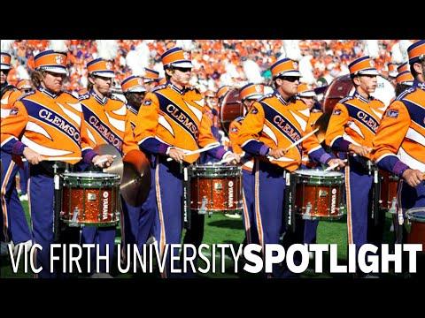 The Clemson Drumline Vic Firth Spotlight!