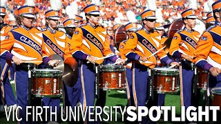Vic Firth Spotlight: Clemson University Tiger Band Drumline