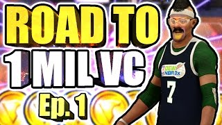 ROAD TO 1 MILLION VC AT THE STAGE • 27 GAME WIN STREAK ON 5k • GREENLIGHTS FROM HALFCOURT 100%😱Ep.1
