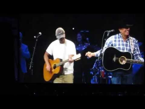 George Strait & Kenny Chesney 'Amarillo by Morning' Nashville
