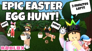 WE HAD AN EASTER 'EGG' HUNT IN BLOXBURG!! $25K PRIZE! | ROBLOX