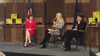 Ivanka Trump discussing tax reform at Volk Packaging Corporation