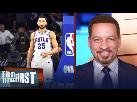 Ben Simmons is playing the victim card and I don't like it — Broussard   NBA   FIRST THINGS FIRST