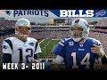 Поделки - The Legend of FitzMagic is Born! (Patriots vs. Bills, 2011)   NFL Vault Highlights