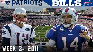 The Legend of FitzMagic is Born! (Patriots vs. Bills, 2011) | NFL Vault Highlights