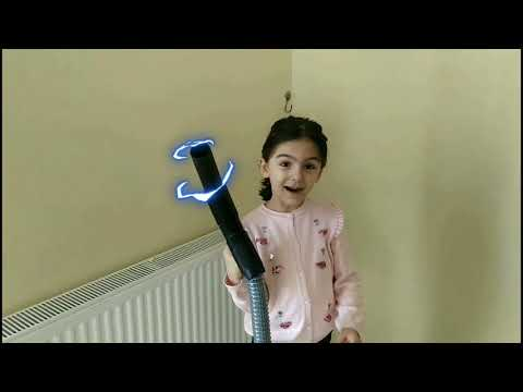 CANAVAR SÜPÜRGE EYLÜLÜ YUTTU ( Süpürge Videoları )