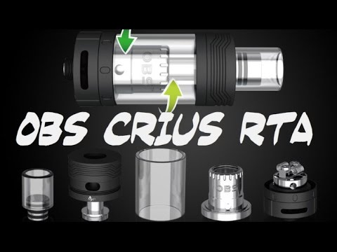 Укладка ваты в OBS Crius RTA - YouTube