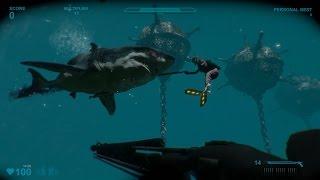 DOS BUZOS ENTRE TIBURONES | Vegetta Y sTaXx | Shark Attack Deathmatch 2