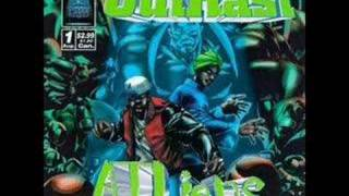 outkast - 2 dope boys in a cadillac