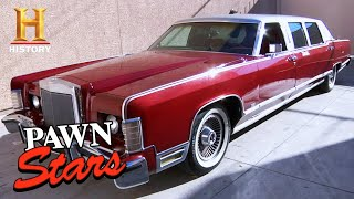 Pawn Stars: HIGH RISK for BIG DEAL Celeb's Limo (Season 6) | History