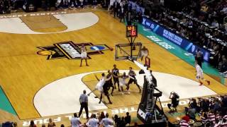 March Madness Arizona vs. Xavier 2017 Final Minute at the SAP Center in San Jose.