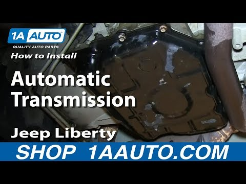 How To Service the Automatic Transmission 3.7L Jeep Liberty