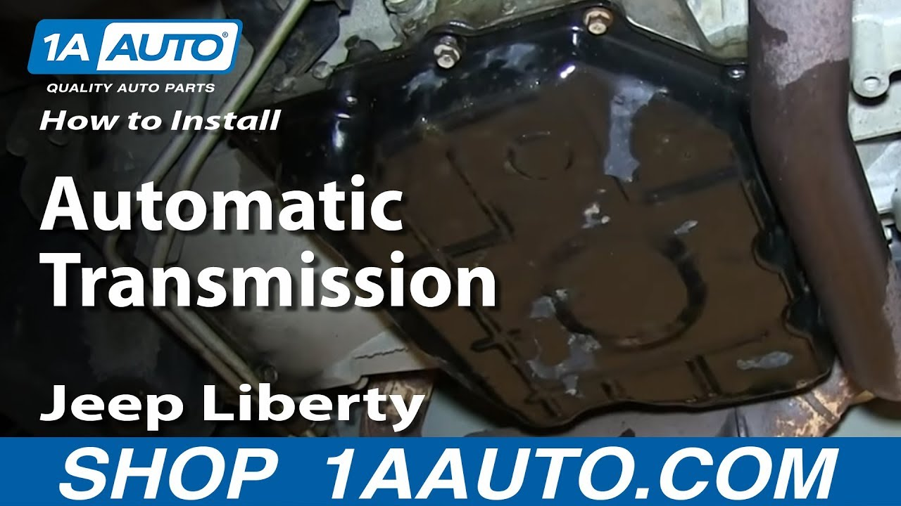 How To Service the Automatic Transmission 3.7L Jeep Liberty - YouTube