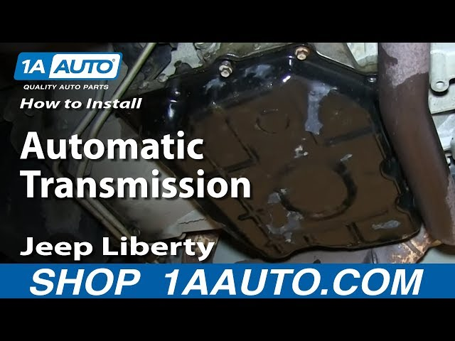 How To Change Transmission Fluid 02-07 Jeep Liberty | 1A Auto