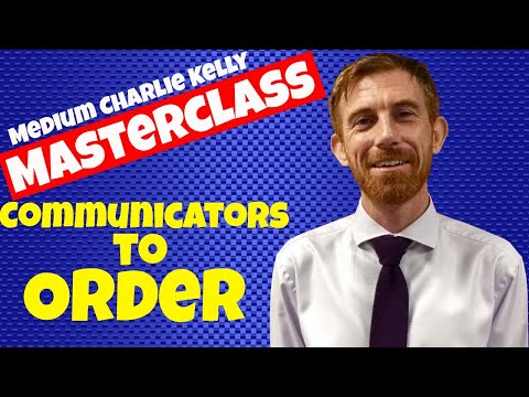 How to get Communicators to Order in Mediumship- Medium Charlie Kelly