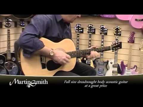 Martin Smith W 100 Guitar Series Youtube