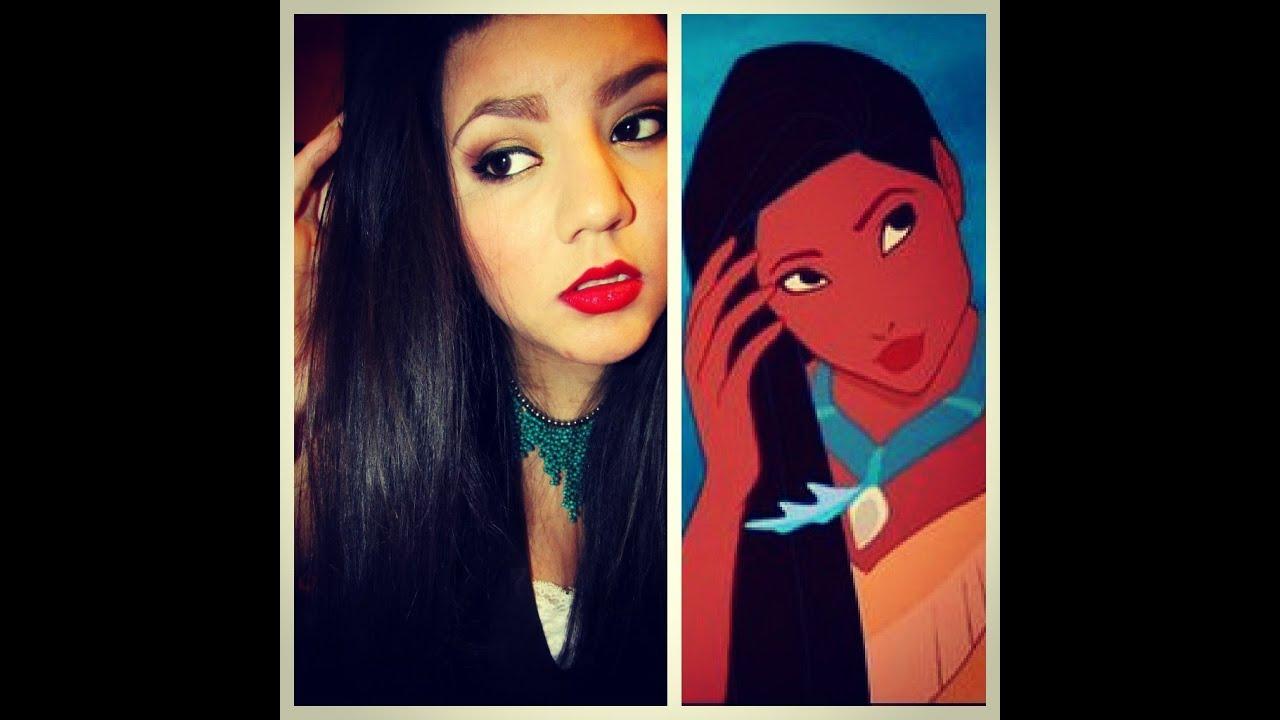 Disneys pocahontas makeup tutorial youtube disneys pocahontas makeup tutorial baditri Images