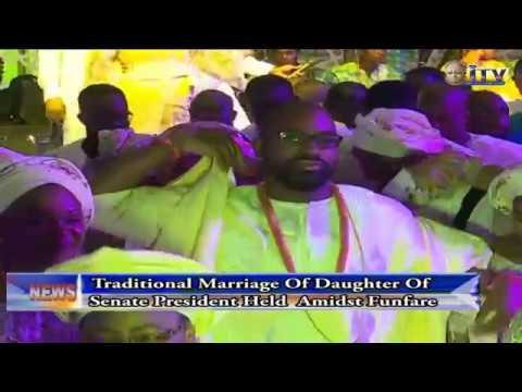 Traditional Marriage Of Daughter Of Senate President, Bukola Saraki Held Amidst Funfare