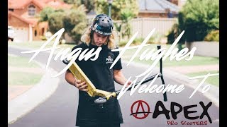 We stoked to have angus hughes apart of apex! welcome the pro team angus!angus worked super hard on this edit and hope you are as are! fol...