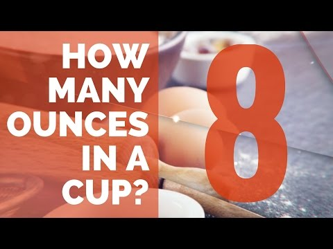 How Many Ounces In Cup