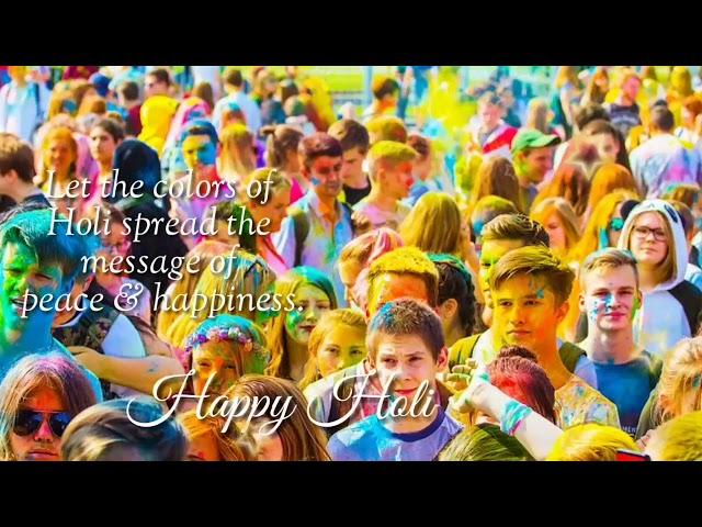 Happy Holi whatsapp Status video    Holi special whatsApp Status ll holi status video 2020