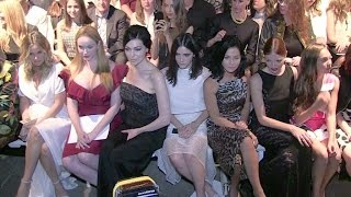 Alicia Silverstone, Christina Hendricks and her massive cleavage, Laura Prepon and more Front Row