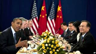 Obama Meets Chinese, Japanese Leaders at East Asia Summit