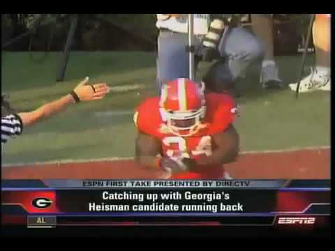 Knowshon Moreno Highlight Tape