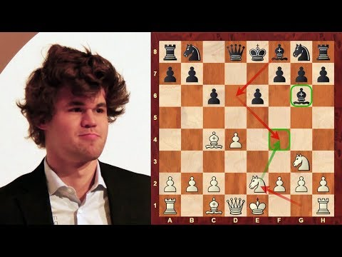 Amazing Chess Game : Magnus Carlsen vs Erwin L'Ami - Tata Steel (2013) - Caro-Kann Defense (B18)