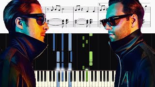 Video Axwell /\ Ingrosso - More Than You Know - Piano Tutorial + SHEETS download MP3, 3GP, MP4, WEBM, AVI, FLV Januari 2018